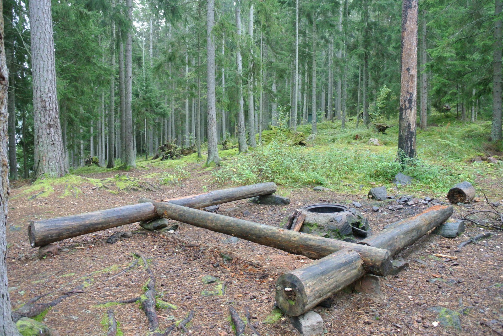 Campsite 81 Norra Lövnäset - Västra Silen